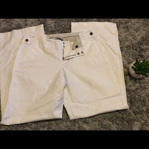 Gap white sophisticated pants